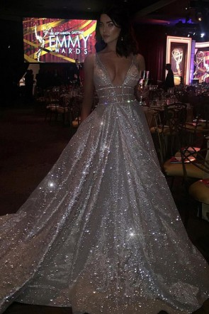 Jacqueline MacInnes Wood Robe de soirée scintillante 2016-Daytime-Emmy-Awards