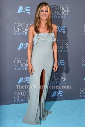 Jennifer Aniston spaghetti sangles robe de soirée S21st Annual Critics 'Choice Awards
