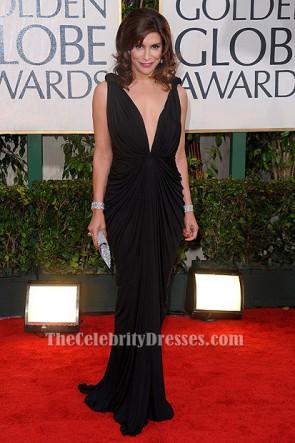 Robe de soirée noire sexy Jo Champa 67e Golden Globe Awards