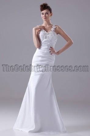 Trumpet / Mermaid Floor Length Wedding Dresses