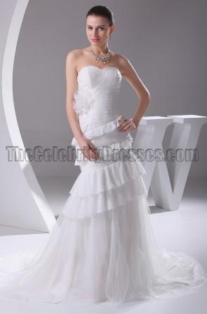 Gorgeous Mermaid Strapless Sweetheart Wedding Dresses