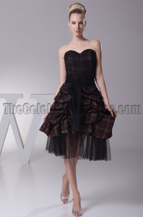 New Style Sweetheart A-Line Black Cocktail Party Dresses