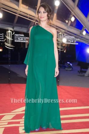 Olga Kurylenko Une robe de bal épaule 15e Festival international du film de Marrakech