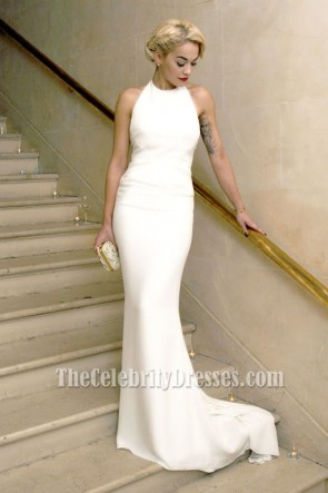 Rita Ora's White Prom Dress Bergdorf Goodman's 111th Anniversary Party