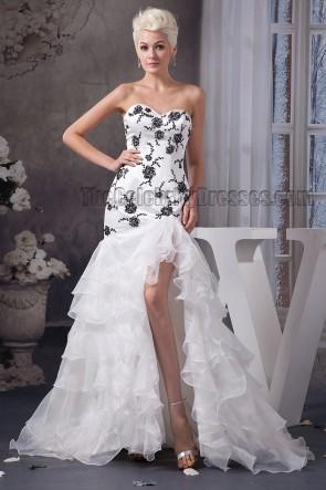 Trumpet/Mermaid Strapless Sweetheart Beaded Wedding Dress