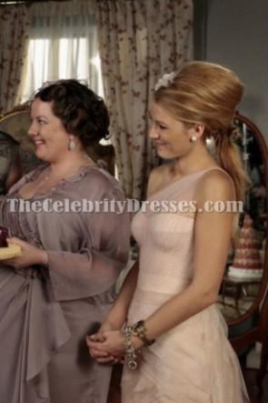 Blake Lively Serena une robe de demoiselle d'honneur de l'épaule Gossip Girl 5
