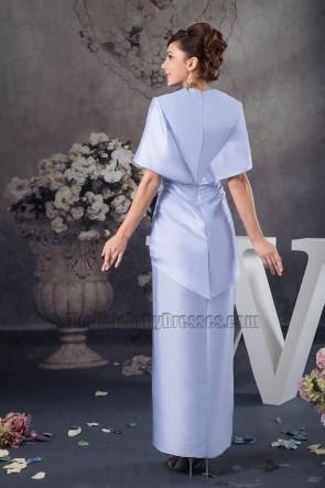 Celebrity Inspired Chic Lavender V-neck Formal Dress Prom Gown