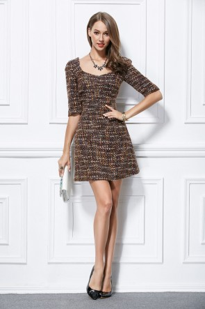 Celebrity Inspired Chic Mini Party Homecoming Dresses TCDBF297