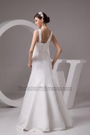 Celebrity Inspired Mermaid Floor Length Wedding Dress