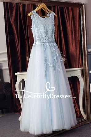 Chic Tull Wedding Ball Gown With Appliques