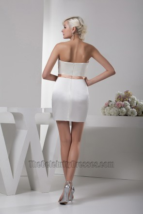 Chic Short /Mini Strapless Party Homecoming Dresses