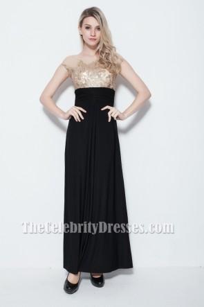 Floor Length Sleeveless Formal Gown Evening Dresses
