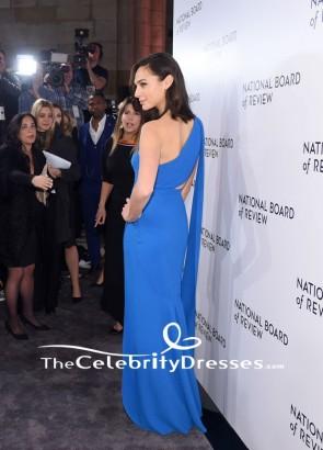 Gal Gadot Robe de soirée bleue Le Gala des prix annuels du Conseil national de révision