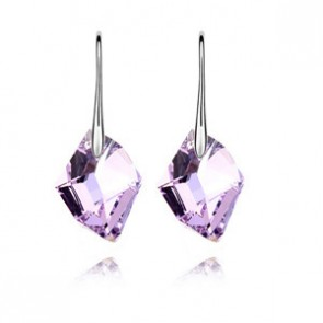 Genuine Swarovski Element Drop Earrings Wish Stone TCDE0110