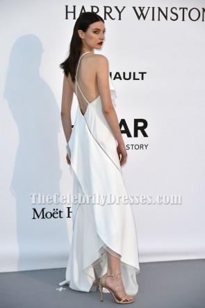 Jacquelyn Jablonski Soirée de bal blanche Le 23e Gala du cinéma contre le sida de l'amfAR