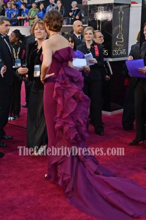 Jennifer Garner Purple Formal Dresses Oscars 2013 Red Carpet