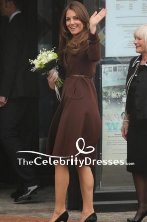 Kate Middleton - Manteau en laine avec manches à Grimsby