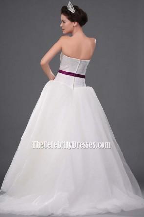 Kate Hudson robe de mariée / robe de mariée dans Movie Bride Wars