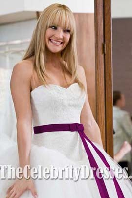 Kate Hudson Wedding Dress/ Bridal Gown in Movie Bride Wars