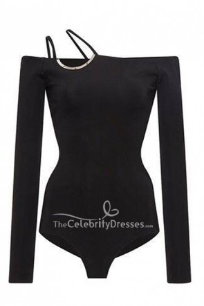 Kendall Jenner Black Off Shoulder T-shirt at Selfridges