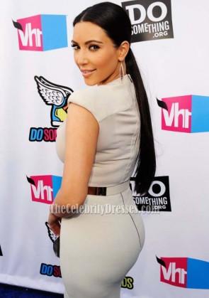 Kim Kardashian robe de bal robe de soirée VH1 faire des récompenses
