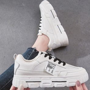 Lace-up Front Wide Fit Skate Shoes