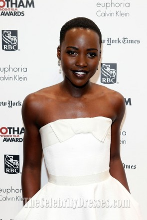 Lupita Nyong'o  Cocktail Dress 23rd Annual Gotham Independent Film Awards