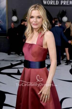 Michelle Pfeiffer Halter Belt Dress Mistress of Evil  TCD8662