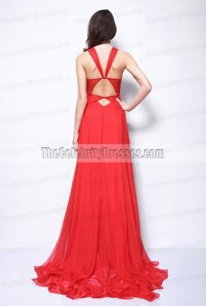 Robe Rouge Rihanna Grammys 2013 tenue de tapis rouge