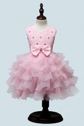 Ruffles Ball-Gown Flower Girl Dress