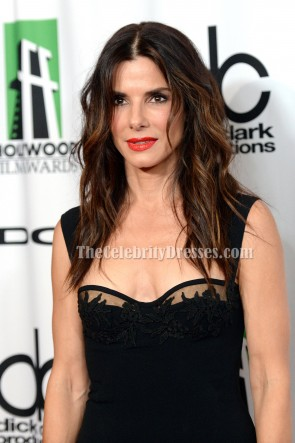 Sandra Bullock Cocktail Dress 17th Annual Hollywood Film Awards