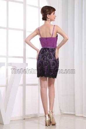 Sexy Spaghetti Straps Mini Party Dress Cocktail Dresses