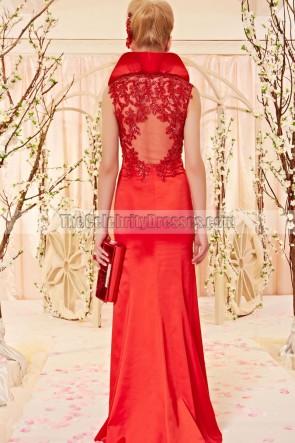 Sheath/Column Red Sleeveless Formal Dress Evening Gown