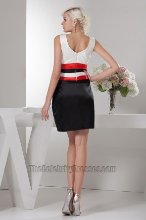 Sheath/Column V-Neck Party Homecoming Graduation Dresses