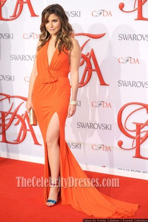 Sophia Bush Orange Prom Dress 2012 CFDA Fashion Awards Formal Dresses