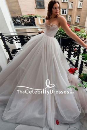 Strapless Sweet Heart Wedding Ball Gown