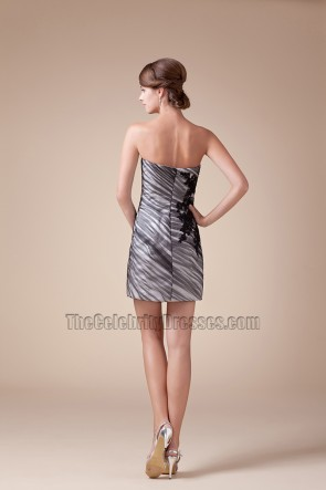 Strapless Sweetheart Short Mini Party Homecoming Dresses