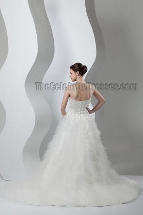 Stunning Strapless Sweetheart Beaded Wedding Dresses
