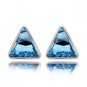 Swarovski Element Triangle Earrings The Secret of the Roof TCDE0100