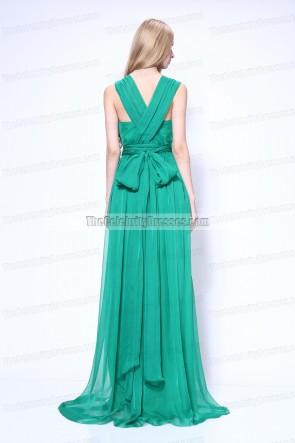 Charlene Choi vert prom robe de soirée Venise Film Festival 2011