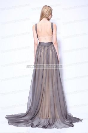 Katherine Heigl robe de bal formelle Paris 'One For The Money' première