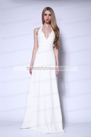 Robe de soirée licou EMMA STONE 66e édition annuelle des Tony Awards Celebrity Dresses