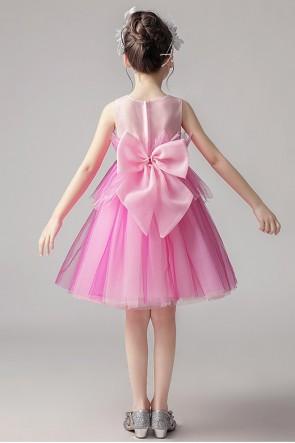 Tulle Ball-Gown Flower Girl Dress