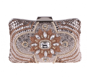 Women Fashion Evening Bag Beaded Clutch Party Mini Purse TCDBG6000-01