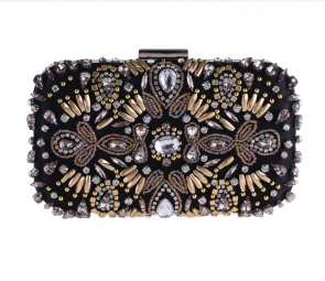 Women's Fashion Evening Party Bags Beaded Clutch TCDBG7417-29