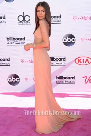 Zendaya 2016 Billboard Music Awards Deux pièces robe de soirée Red Carpet robe de bal