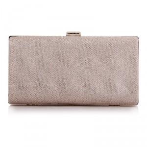 New Square Fashion Simple Clutch Bags PU Mini Handbags