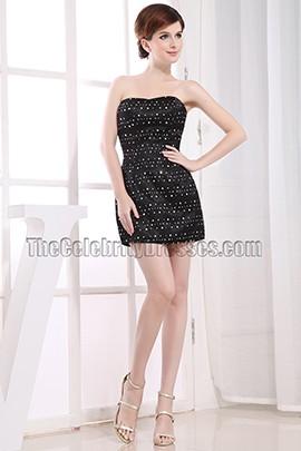 Celebrity Inspired Little Black Dress Mini Party Dresses