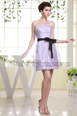 Discount Short Lilac Party Dress Homecoming Cocktail Dresses