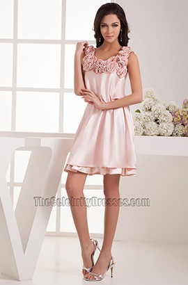 Gorgeous Short Pink Party Homecoming Graduation Dresses